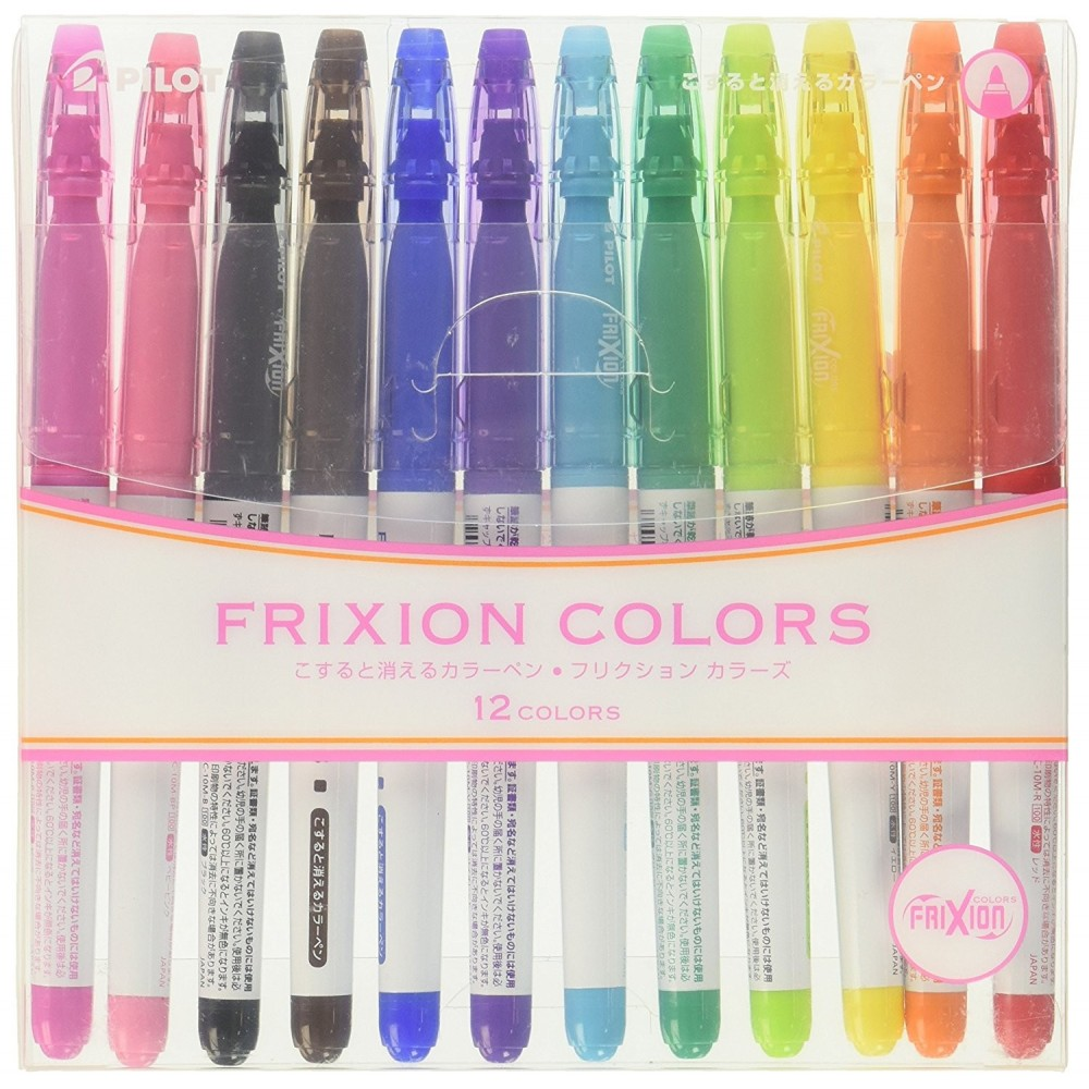 Pilot FriXion Colors Erasable Markers Set of 12