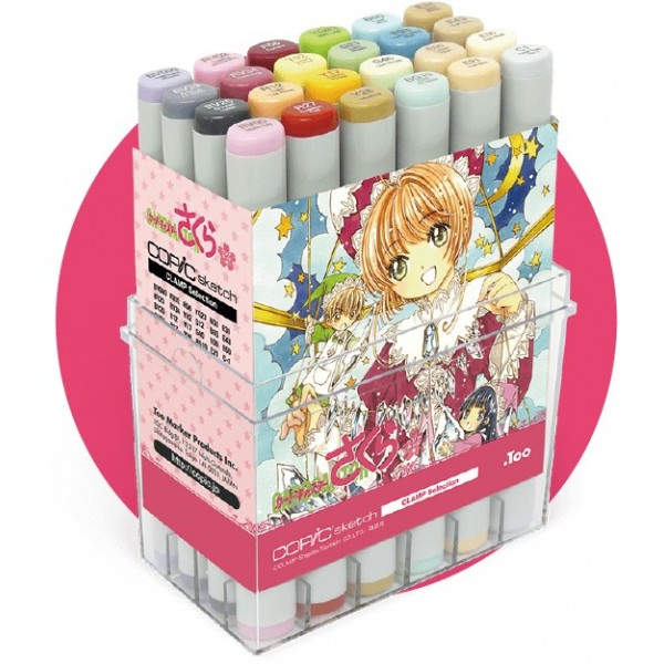 Limited Edition Cardcaptor Sakura Copic Sketch