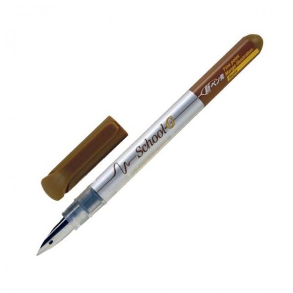 Tachikawa Comic Nib Fountain Pen School G Model Sepia Fine