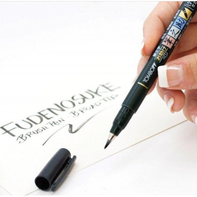 Tombow Fudenosuke Brush Pen, Soft Tip