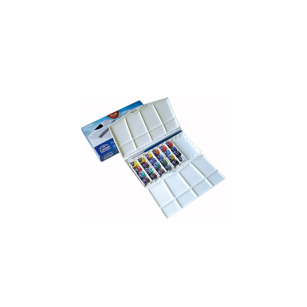 Winsor and Newton Artists' Watercolor Set 24 Painting Plus