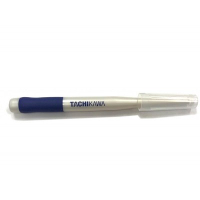Tachikawa Pearl White Grip Pen with Cap T-40