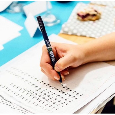 Tombow Fudenosuke Brush Pen Hard Tip GCD-111