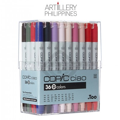 Copic Ciao Marker Set of 36 D
