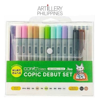 Copic Ciao Debut Set - 10...