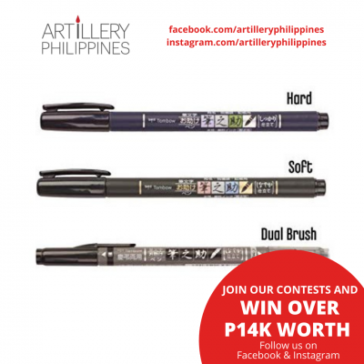 Tombow Fudenosuke Brush Pen...