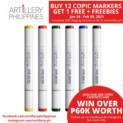 Copic Sketch Marker Set of...