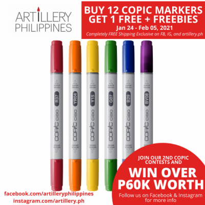 Copic Ciao Marker Set of 6...