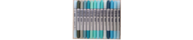 Copic Ciao Blue Green