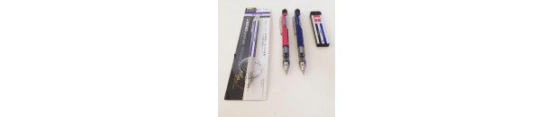 Mechanical Pencils & Erasers