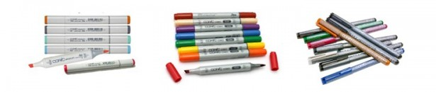 Copics - Copic Products: Copic Markers - Artillery Philippines